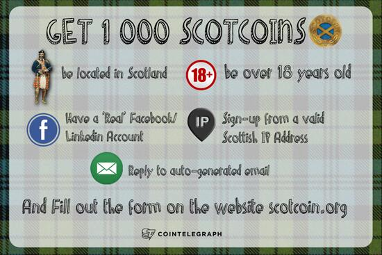 Scotcoin Requirements