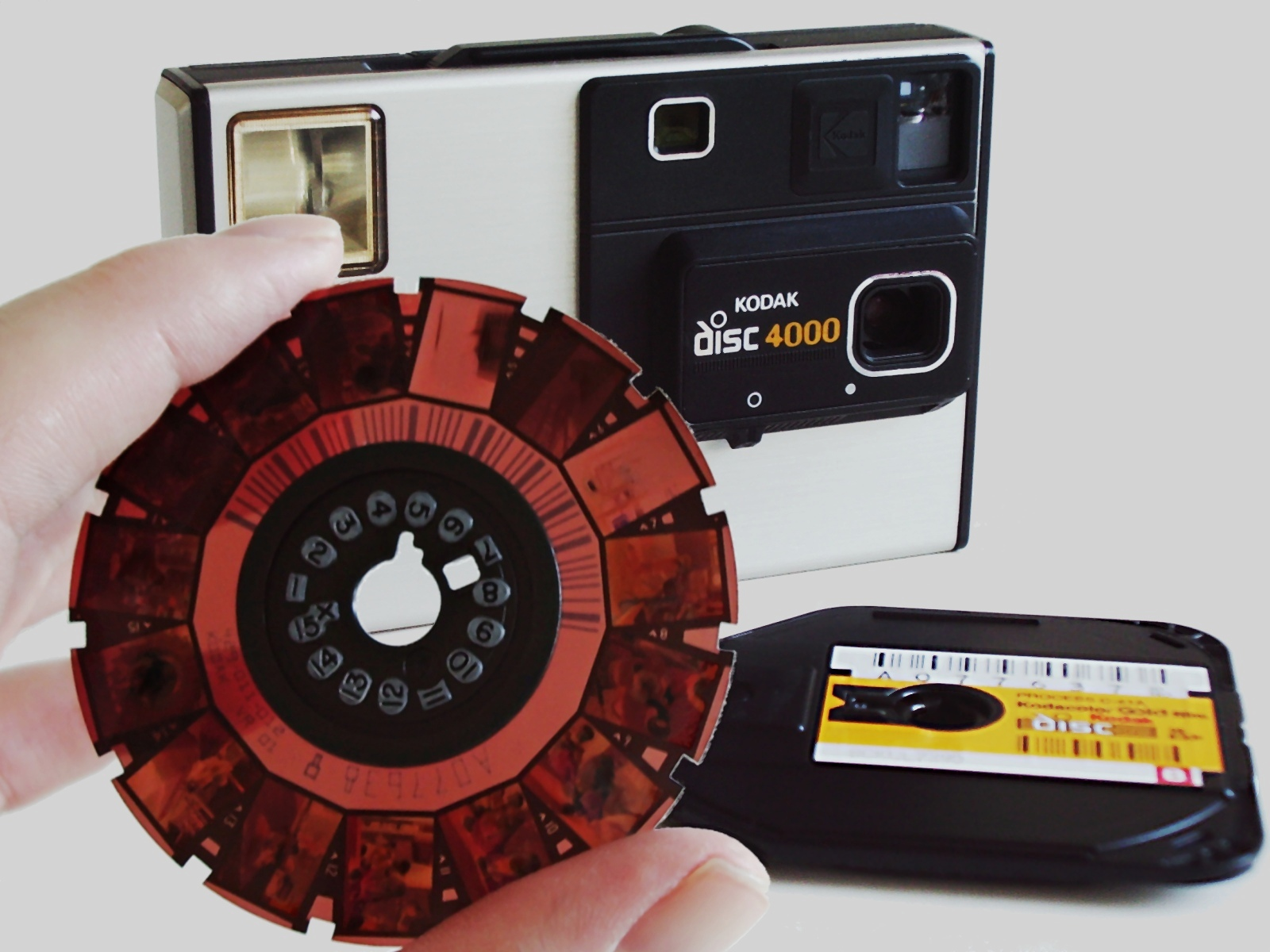 Kodak Disc Film and Camera
