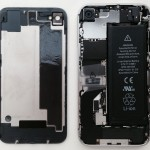 iPhone 4S - open with original battery