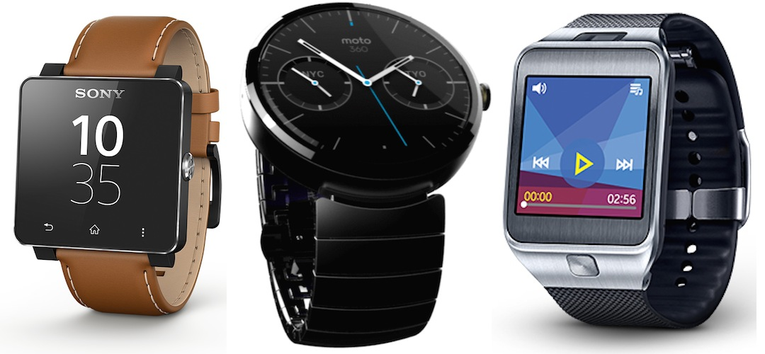 Three Smartwatches