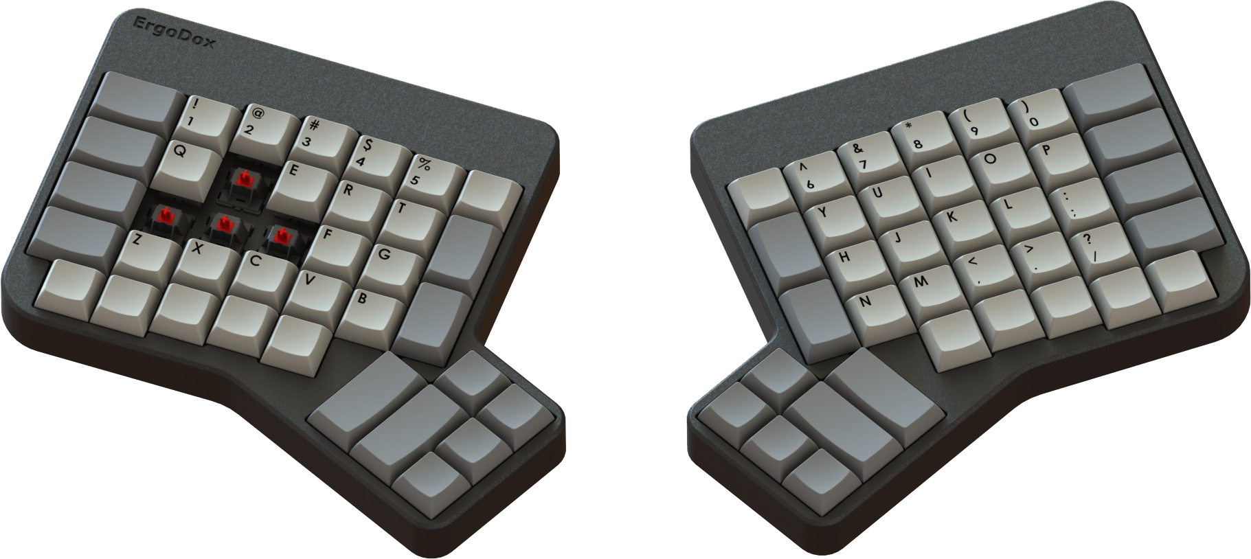 The Original ErgoDox Design