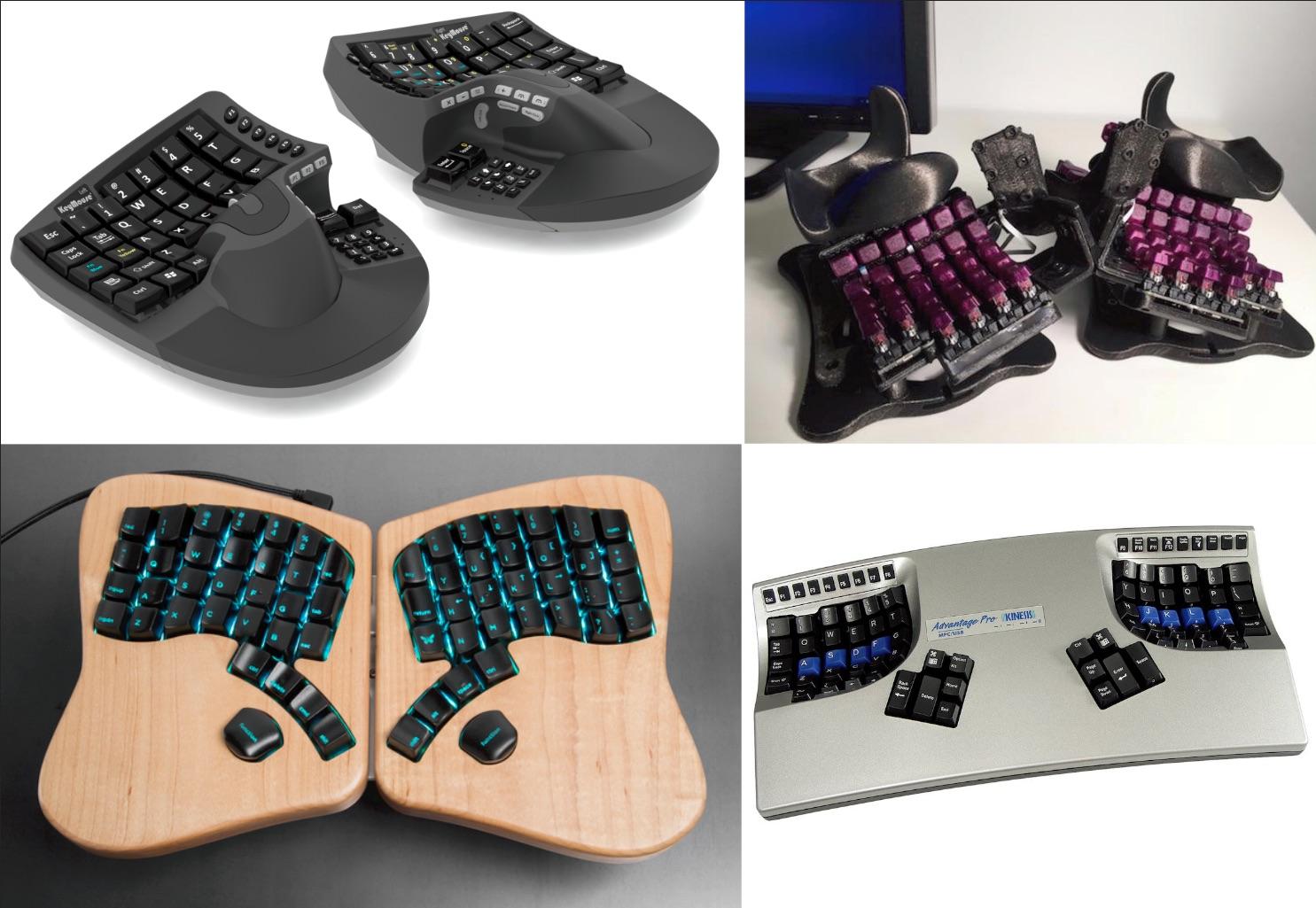 4 keyboards